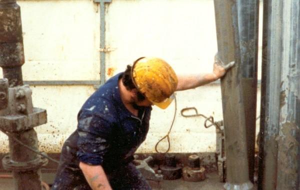 Männer und Erdöl  –  Arbeit und Abenteuer